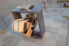 enchevetrement voiture 03 900x599 Des enchevêtrements numériques de voitures  design art