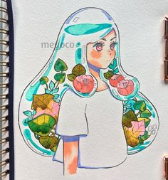 """16.8k Likes, 37 Comments - meyoコ (@meyoco) on Instagram: """" (art tools info: @pearlescentpink)"""""""