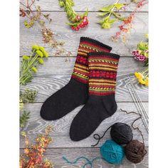 Sokkepakker med oppskrift og garn til sokker med latvisk mønster. Book Crafts, Traditional Design, Knitting Socks, Leg Warmers, Different Styles, Christmas Stockings, Folk Art, Knitting Patterns, Presents