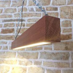How to combine Wood and Modern Beam... #PendantLamp #WoodLamp #LED @idlights