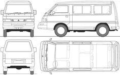 Mitsubishi L300 Scheme
