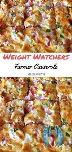 Farmers Casserole - Weight Watchers Recipes FARMERS CASSEROLE #weightwatchersrecipes #smartpointsrecipes #WeightWatchers #weight_watchers #Healthy #Skinny_food #recipes #smartpoints #Farmer #Casserole<br> YOU'LL NEED: 6 C. of diced potatoes. 1 Tbsp of extra virgin olive oil. Farmers Casserole, Healthy Breakfast Casserole, Diced Potatoes, Skinny Recipes, Weight Watchers Meals, Olive Oil, Food, Low Calorie Recipes, Meals
