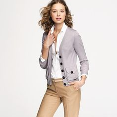 Love that pocket! Quite possibly the best cardigan for fall!