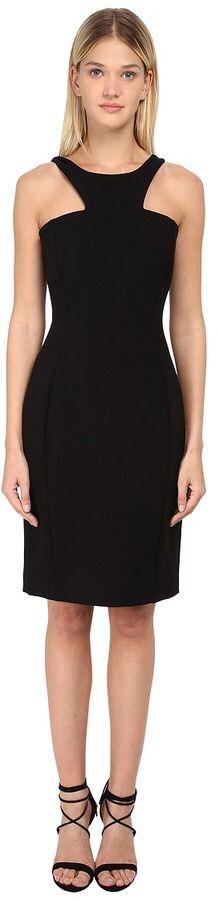Versace Collection V-Neck Embellished Dress