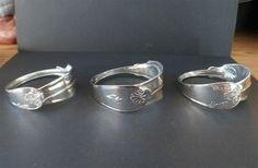 Silverbestick blir smycken - silversmycken, smycken av silverbestik, hantverk i Uppsala