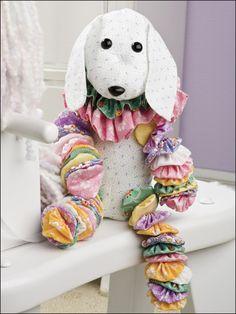 Sewing - Doll & Toy Patterns - Stuffed Animal Patterns - Yo-Yo Puppy