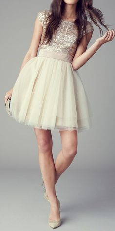 Perfect little party dress.
