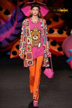 Moschino Spring 2017 Menswear Fashion Show - Molly Blair