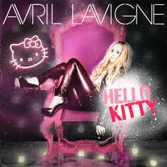 "avril lavigne hello kitty | Ultimate Music | Avril Lavigne ""Hello Kitty"" (Lyric Video Premiere ..."