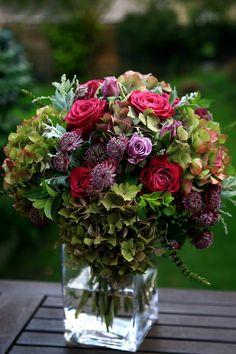 Lovely vase of flowers.                                                                                                                                                                                 More