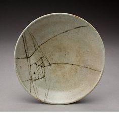 circa 1956Artist: Warren MacKenzie. Alix MacKenzieMedia: stoneware, iron oxide decoration under feldspathic glaze