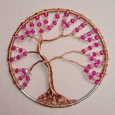 Spring wire tree
