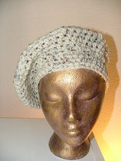 How to make Crochet Beret Hat                                                                                                                                                                                 More