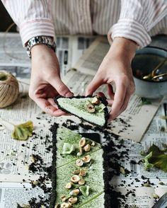 Oreo & Matcha tart recipe