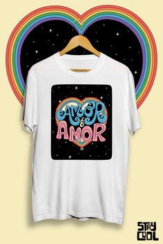 LGBT Pride Lgbt, Pride, Tees, Mens Tops, T Shirt, Fashion, Amor, Block Prints, Templates
