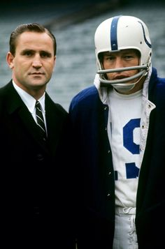 Don Shula & Johnny Unitas