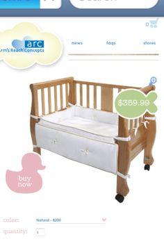 sidecar crib