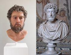 Ancient Rome, Ancient History, Forensic Facial Reconstruction, Famous Historical Figures, Roman Sculpture, Roman History, Roman Art, Historical Architecture, Roman Emperor