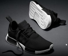 #adidasNMD Mesh Monochrome Pack Shoes Black