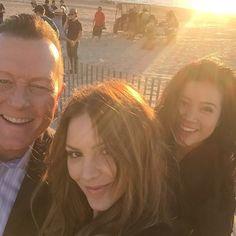 Sunset selfie with mah crew!
