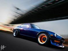 Datsun 240z... Step on your breaks, NOW!