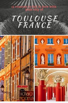 13 Reasons To Fall In Love With Toulouse France, La Ville Rose Europe Destinations, Europe Travel Tips, European Travel, Travel Guides, Visit France, South Of France, Backpacking Europe, Bucket List Europe, Ville Rose