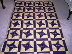 Friendship Star Crown Royal Quilt Pattern | have been quilting for many years made quilts for friends family and ...