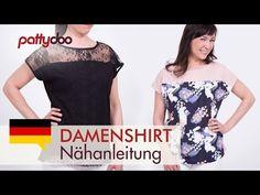 Damenshirt nähen | pattydoo Nähblog
