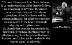 It is EXACTLY the tolerance in churches today