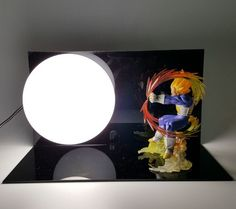 Dragon Ball Super Saiyan Vegeta Kamehameha Bedside Lamp