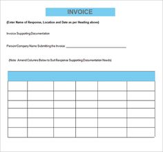 Sample Contractor Invoice   Examples In PDF, Word, Excel