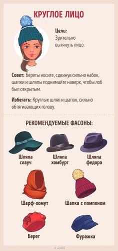 Как выбрать головной убор всоответствии стипом лица