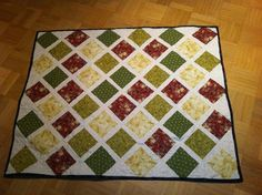 for Patsy, hand quilted with overall butterfly stipple