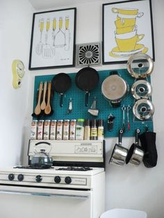Clever DIY Ways to Organize Pots and Pans  Apartment Therapy's Home Remedies