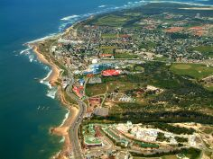 An aerial shot of Port Elizabeth, South Africa. Port Elizabeth South Africa, Sa Tourism, Provinces Of South Africa, City Of God, Nelson Mandela, Places Of Interest, Rest Of The World, Countries Of The World, City Photo