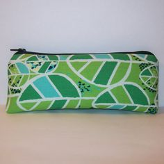 Pipe Pouch Padded Pipe Case Pipe Bag Green Leaves by PouchAPalooza.com