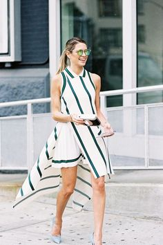 Fashion 2017, New York Fashion, Look Fashion, Spring Fashion, Girl Fashion, Fashion Trends, Fashion Images, Blake Lively, Western Dresses