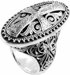 Konstantino Sterling Silver Oval Ring (DMK1969-131)