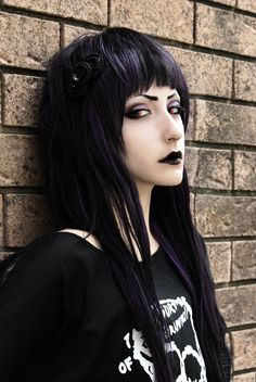 Goth by Knitemaya....and it's a guy what the hell even guys look better than me x(