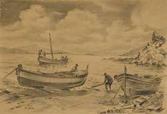 Resultado de imagen de imagenes de barcas en la playa