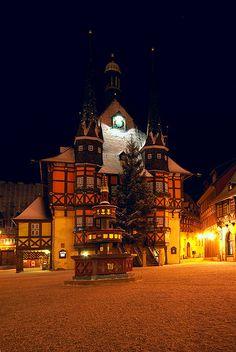 Rathaus Wernigerode by eriwst, via Flickr