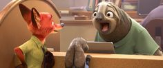An Animation Dalmatian: [NEWS] Second 'Zootopia' Trailer: Sloths & Laughs