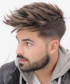 Most Wanted Men Edgy Haircuts and Hairstyles Not to Miss Out. Look Stylish This Year By Adding A New Look to Your Wardrobe with Minimal Effort. Edgy Haircuts, Stylish Haircuts, Undercut Hairstyles, Cool Hairstyles, Hairstyles 2018, Medium Hair Styles, Short Hair Styles, Long Hair Beard, Gents Hair Style