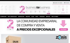 Business to business (B2B) #cepyme #negocios #pymes #negocio #zesis http://www.zesis.com/wp-content/uploads/2013/08/b2b_vista_web1.png
