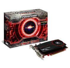PowerColor AMD Radeon HD 7750 1GB GDDR3 VGA/DVI/HDMI PCI-Express Video Card AX7750 1GBK3-H by PowerColor. $108.49. PowerColor AMD Radeon HD 7750 1GB GDDR3 VGA/DVI/HDMI PCI-Express Video Card