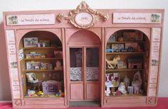 boutique de jouets 1/12. Les Miniatures de Mathilde