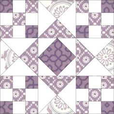 Quilty Friends: CQF Month 10 - April 2013 - Boxed Star