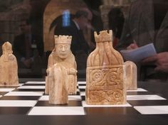 Lewis Chessmen are at the Cloisters!