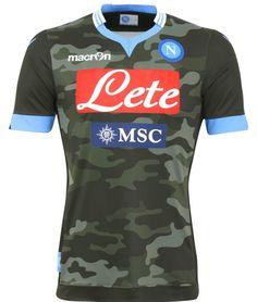 Camouflage Napoli Shirt 2013 14