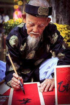 Calligrapher, Vietnam